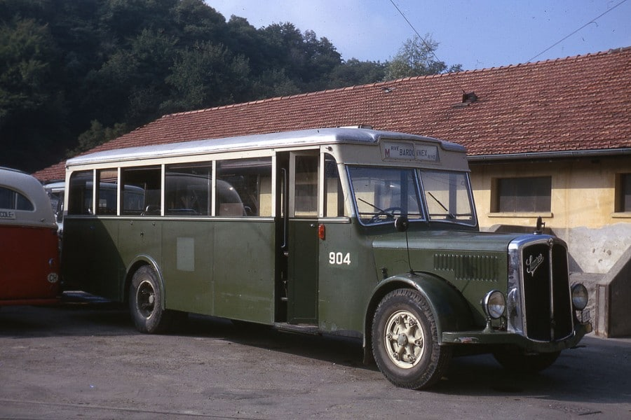 Autobus SAURER 904, ex No 15. Photo Jean-Henri Manara