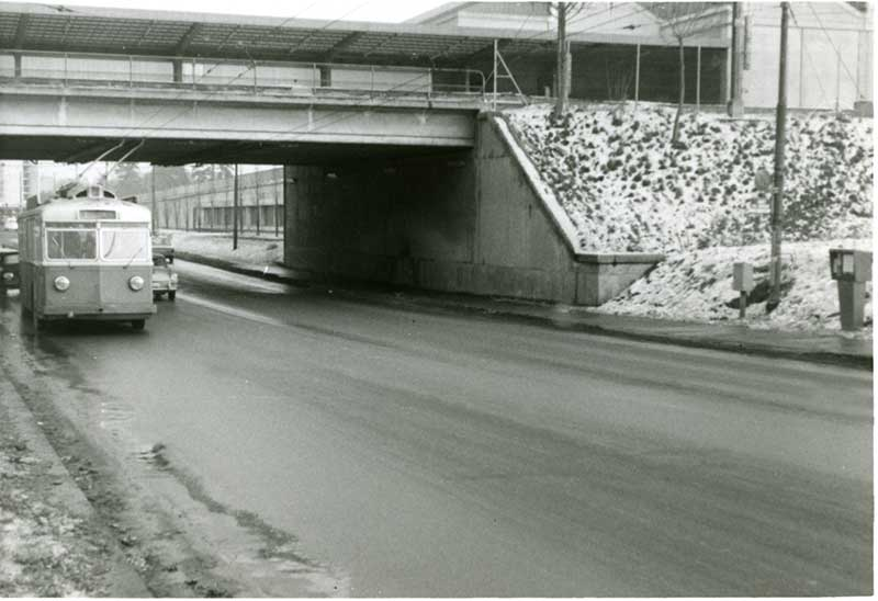 "TB ""Zurichois"" n°847 Pont-Rouge le 16.01.1971 Source collection ""Diwabus949"""