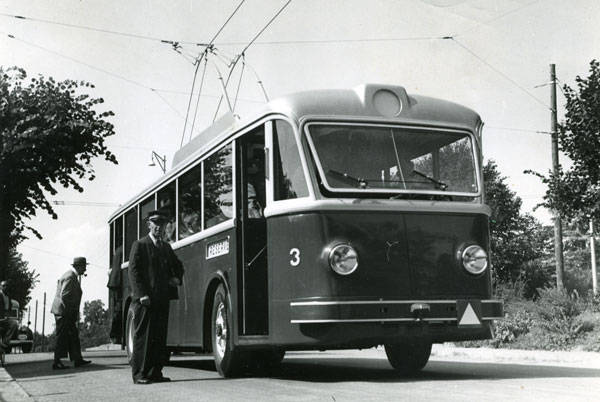 Premier Trolleybus - 11.09.1942 - Collection SNOTPG