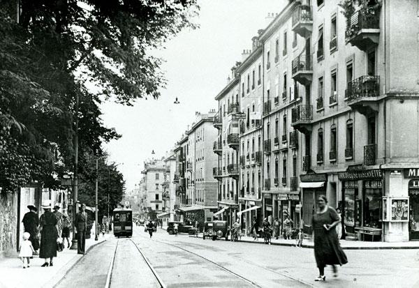 Rue de la Servette - Poterie en 1930 - Collection SNOTPG