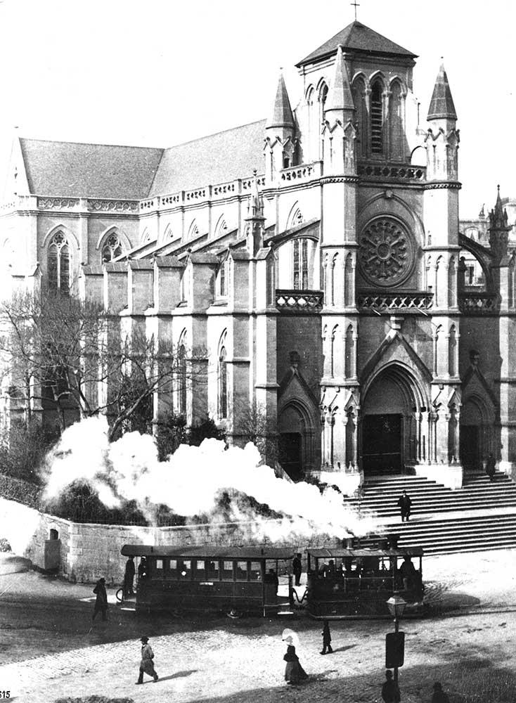 Arrivée Cornavin en 1892