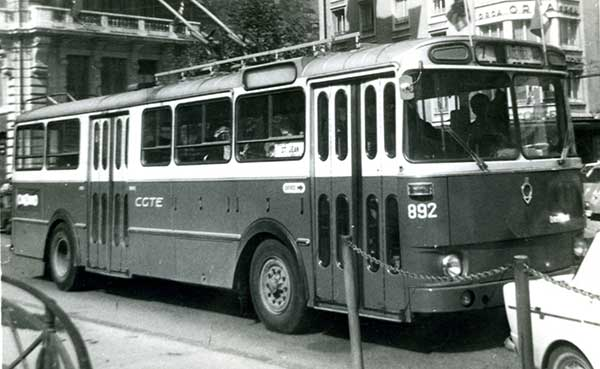 Trolleybus Berliet 892 à Bel-Air