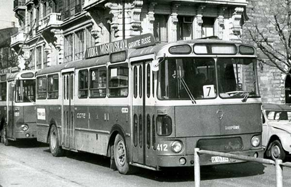 Autobus Berliet 412 - Pont-Ile