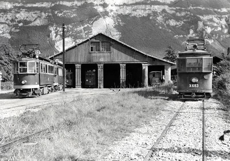 1950-Dépôt de Veyrier - Coll Chappuis - AGMT