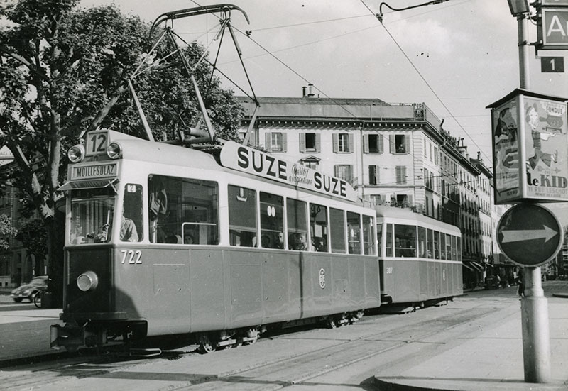 1952 - Rond-Point de Plainpalais - Collection SNOTPG