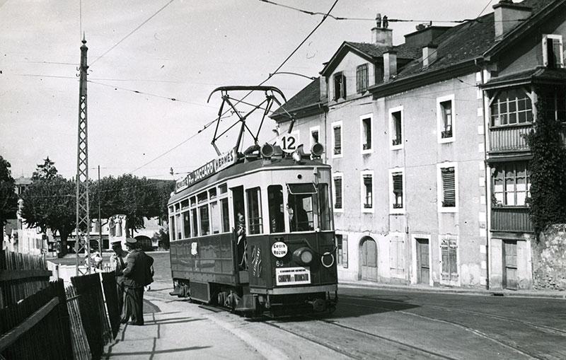 Juillet 1952 - Départ de Carouge - SNOTPG