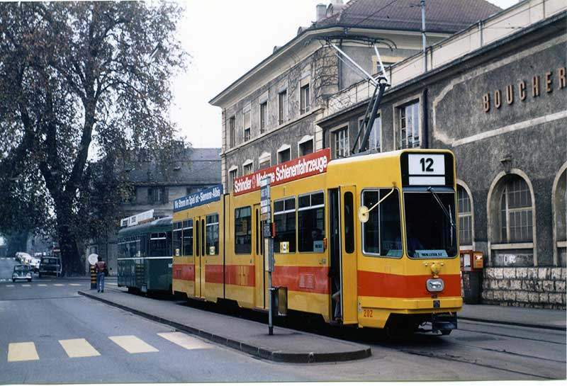 1978 - Carouge - Convoi BLT - Collection E.Rahm