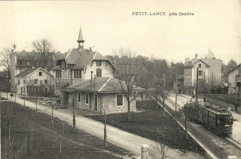 Petit-Lancy sans date - Carte postale collection SNOTPG