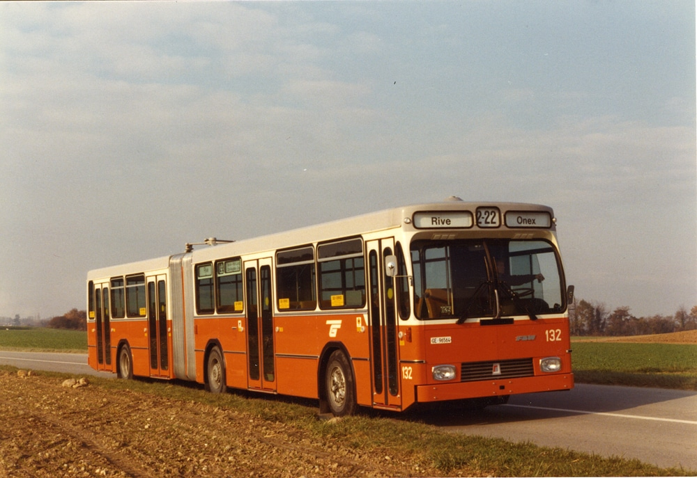 Autobus FBW 132 - Collection SNOTPG