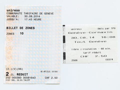 Billets - Collection SNOTPG