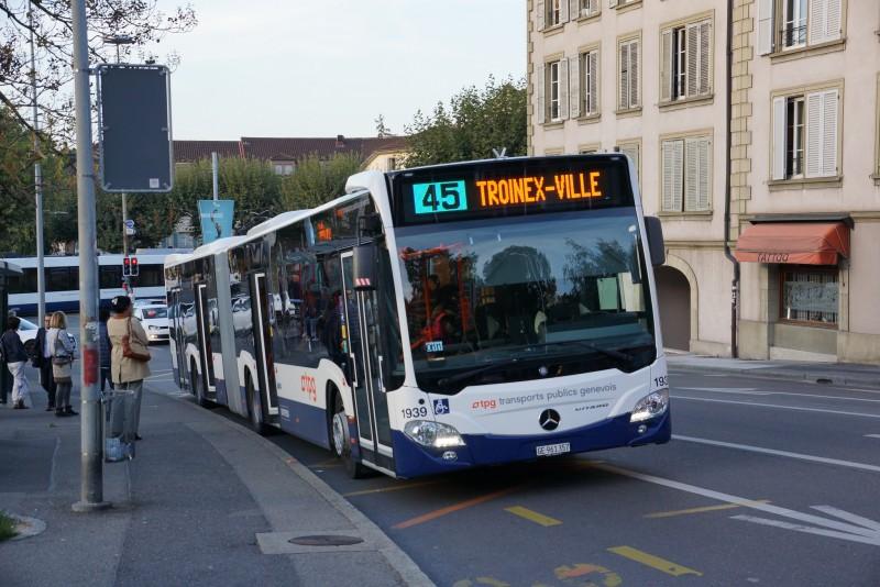 Ligne 45 - Geneve-Tours