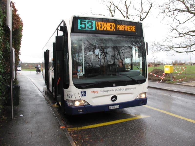 Ligne 53 - Geneve-Tours